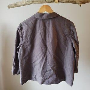 Halogen Jackets & Coats - Lavender grey 3/4 leave blazer Halogen Xl